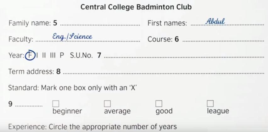 Central College Badminton Club